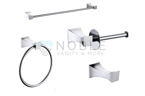 accessories toilet paper holder towel holder knob and towel ring